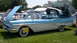 1958 Ford Fairlane 500 Skyliner hardtop convertible; photo courtesy Stephen Foskett