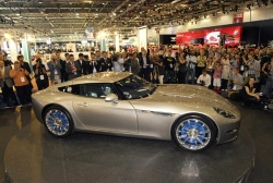 The Lightning GT, one of the U.K.s first electric sports cars, has debuted at the British International Motor Show.