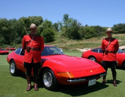 A Daytona with a pair of matching Mounties