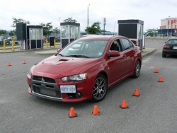 Comparison Test: Mitsubishi Evo MR vs. Subaru WRX STi  car comparisons