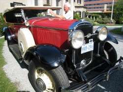 Larry Norton's 1931 7-passenger spent the first 29 years of its life as a taxicab in Kingston, Jamaica