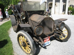 Richard Fraser's 1910 Model 8 from East Poland, Maine, one of two such models known to exist and both were at the show