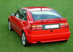 Volkswagen Corrado (UK model); courtesy Bernd H. and Wikimedia Commons