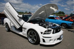 2007 Mustang California Special, owned by Tom Dattilo