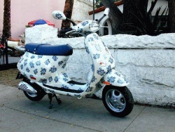 Customized Vespa