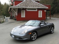 2003 Porsche Boxster; photo by Russell Purcell