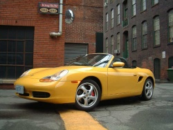 2002 Porsche Boxster; photo by Laurance Yap