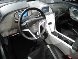 The Volt's interior was meant to look futuristic but still familiar