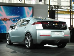 The production Chevrolet Volt