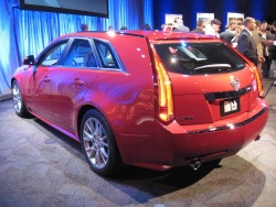 The Cadillac CTS Sports Wagon will be built in Detroit for global sales including Canada