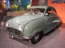 1952 Saab in GM's historical display