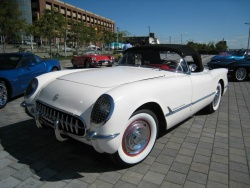 1953 was the first year for Corvette