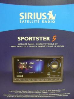Sirius Sportster 5 Satellite Radio