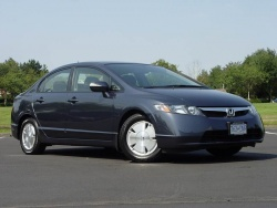 Test Drive 2008 Honda Civic Hybrid Autos Ca