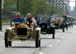 On Saturday, September 27, a 50-car parade of Ford Model Ts and other historic Ford vehicles motored through the streets of Metro Detroit.