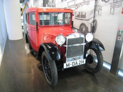 The first true BMW automobile, the 3 15 PS made from 1929 to 1931
