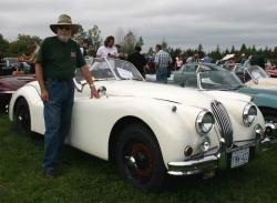 1955 Jag XK140