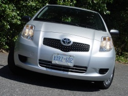 Test Drive: 2008 Toyota Yaris CE hatchback toyota car test drives