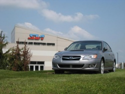 Subaru's Indiana plant makes the Legacy, Outback, Tribeca and Toyota Camry