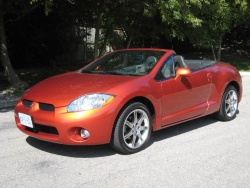 test drive 2008 mitsubishi eclipse spyder. Black Bedroom Furniture Sets. Home Design Ideas