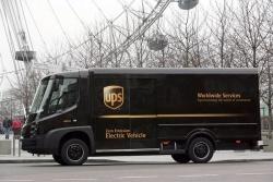 UPS zero-emissions truck