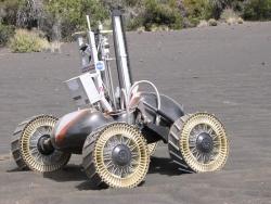 Michelin lunar wheel in testing