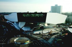 The new Porsche Museum, which opens next month