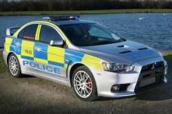 Michelin Lancer Evolution police car