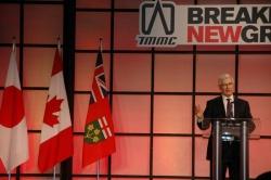 Ray Tanguay, Toyota Canada\'s Senior Vice President