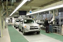 Toyota's new plant in Woodstock, Ontario