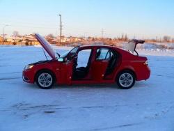 Inside Story: Saab 9 3 Aero XWD sedan saab inside story