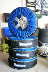Tire Totes in action