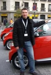 2008 Smart Fortwo and designer Hartmut Sinkwitz
