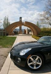 2008 Pontiac Solstice GXP; Mission Hill Winery, Kelowna BC