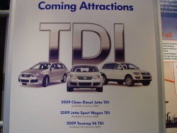 Forthcoming VW TDI models