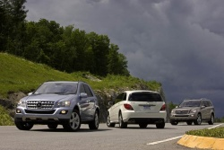 First Drive: 2009 Mercedes Benz BlueTec diesel models: ML 320, GL 320 and R 320 mercedes benz first drives diesel
