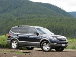 First Drive: 2009 Kia Borrego  kia first drives