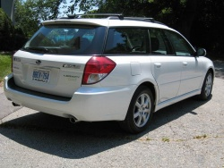 Test Drive: 2009 Subaru Legacy Wagon PZEV car test drives subaru