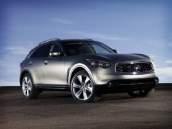 Distance Control Assistance is available on the 2009 Infiniti FX