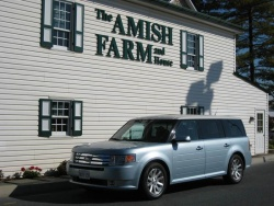 2009 Ford Flex in Pennsylvanian Amish country