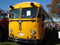 No matter what it is, someone has restored one, like this 1957 Crown school bus