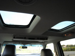 The Vista roof (and optional DVD player)