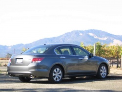 Test Drive: 2009 Honda Accord EX L V6 Navi car test drives honda