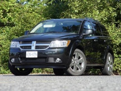 Test Drive: 2009 Dodge Journey R/T AWD car test drives dodge