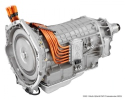 GM two-mode hybrid transmission