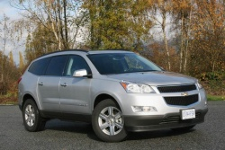 Test Drive: 2009 Chevrolet Traverse LT AWD  chevrolet