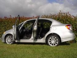 2009 Suzuki SX-4 Sedan Sport