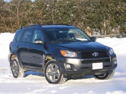 Test Drive: 2009 Toyota RAV4 Sport four cylinder toyota car test drives