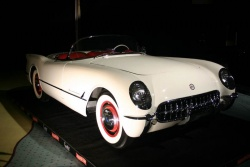 1953 Corvette, the first year