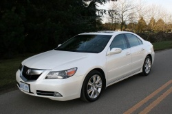 Test Drive: 2009 Acura RL Elite car test drives acura
